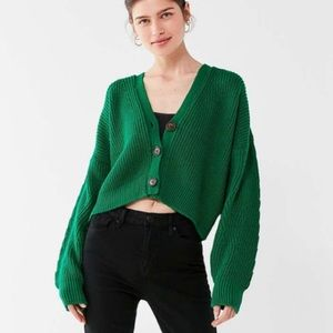 Urban Outfitters Jem Cropped Cardigan